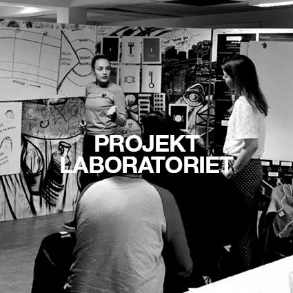 Visuelt menupunkt til: Projektlaboratoriet